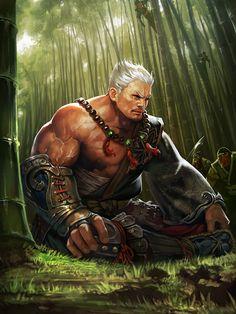 ArtStation - legend of the cryptids, kkom jirak