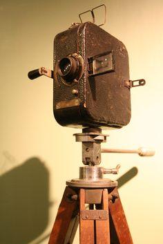 Antique Video Camera @Boa Film Museum