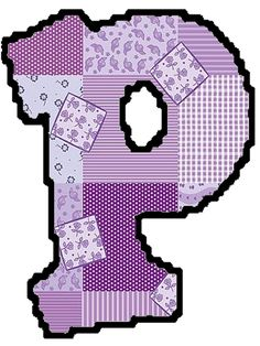 abecedario patchwork para imprimir - Buscar con Google