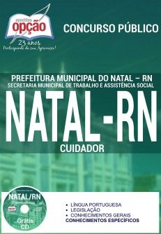 Nova -  Apostila Concurso Prefeitura de Natal - Diversos Cargos  #concursos