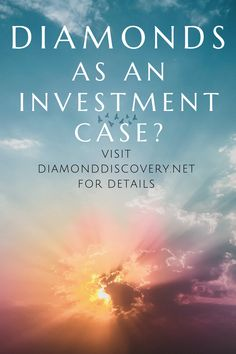 Are diamonds a good investement opportunity? Check out DiamondDiscovery.net for details on that matter. There you will find out if diamonds - mined and lab grown certified diamonds - are a valid investment opportunity. Disclaimer: This should just be seen as a collection random thoughts on the diamond market. This is NOT - and I can't stress this enough - investment advice! Diamond Rings, Diamond Cuts, Diamond Guide, Investment Advice, Lab Diamonds, Random Thoughts, Discovery, Opportunity, Investing