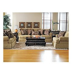 Living Room Furniture Product | Product: HM Richards Desando Traditional  Vintage Living Room Furniture .