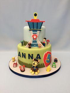"""Paw Patrol"" cake"