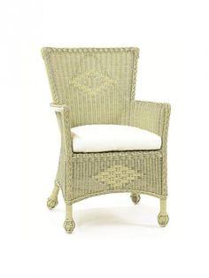 Cottage Wicker Furniture, Sonoma Wicker Veranda Chair