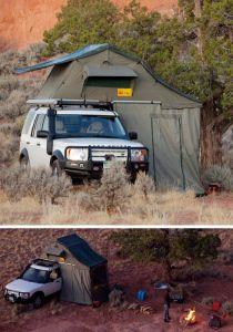 Land Rover Car Tent