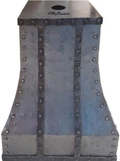 Iron Range Hood for kitchen wall and island.