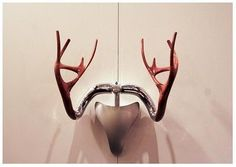 Abstract Stag - interior furnishing