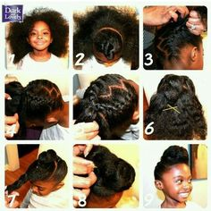 coif·fure noun \kwä-ˈfyu̇r\ : a way of cutting and arranging someone's hair (e.g., see steps 1-9)