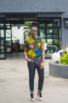 Jerri Mokgofe's Looks: Documented, Archived and Remixed – According To Jerri African Fashion, Hipster, Punk, Style, Africa Fashion, Swag, Stylus, Hipsters, African Fashion Style