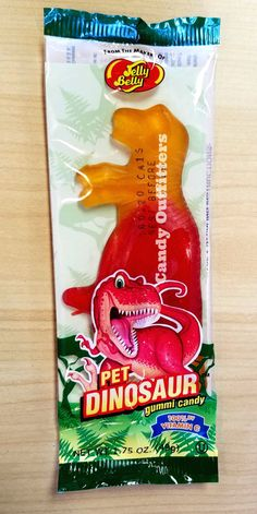 Jelly Belly Pet Dinosaur Gummy Candy - Vitamin C - Party Favor - 1  Gummi Treat #JellyBelly
