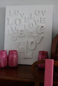 The Logbook: Valentines Day Decorating