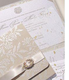 Upscale Wedding Invitations | Design - Luxury Wedding Invitations | Couture Wedding Invitations ...