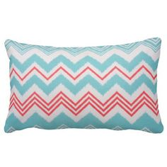 These fun and modern outdoor pillows are SURE to give your outside an updated look.  Even though these are made with outdoor fabric I still think