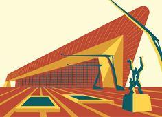 Rotterdam!!  illustratie door Marieke Kofflard
