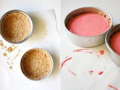 delicious and easy peasy raspberry ice cream tart.