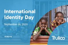To ensure that citizens have access to essential services, the UN established the Sustainable Development Goal (SDG) 16.9 which calls for legal identity for all, including birth registration, by 2030. And, to help raise awareness for the issue, a coalition of governments and international agencies are calling for the recognition of September 16 as International Identity Day. Financial Inclusion, September 16, Sustainable Development, Birth, Identity, Goals, Marketing, Day, Being A Mom