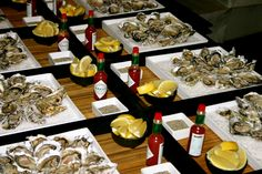 Fresh Namibian West Coast oysters...could be the start of a romantic evening!