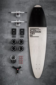 Longboards by DTWO, a company from Slovenia. Links: https://www.dimension-two.com http://www.behance.net/gallery/Dimension-Two-Longboards/80...