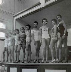 Vintage Black Beauty Queens, 1950s.