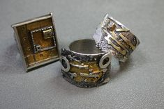 Rings | Debbie Brown.......C Fox: I know Debbie Brown very well and I have never seen these rings!