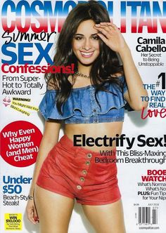 Camila Cabello looks smoking hot on the cover of Cosmopolitan's July issue.