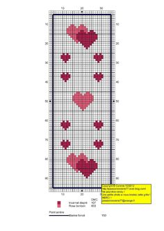 - Mes petites croix et moi ! Free Cross Stitch Charts, Cross Stitch Bookmarks, Cross Stitch Books, Mini Cross Stitch, Cross Stitch Fabric, Cross Stitch Heart, Cross Stitch Borders, Cross Stitch Designs, Cross Stitching