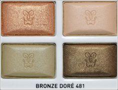Guerlain ads | Guerlain Bronze Dore Eyeshadow Quad | beauty