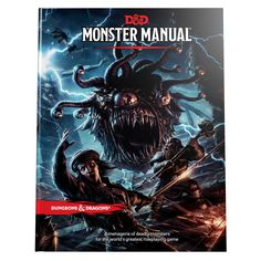 Monster Manual (D&D Core Rulebook): Wizards RPG Team The Monster Manual teaches you how to how to fill your Dungeons & Dragons games with monsters—how to populate the game with pesky goblins and mighty dragons for players to battle or beguile, outwit or outrun.