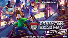 2021-02-26: Cranston Academy: Monster Zone Movie Info, The Creator, Broadway Shows, Cinema, Posters, Artwork, Movies, Movie Theater, 2016 Movies