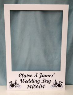 Large personalised polaroid photo booth prop by PepperandSquire, £29.99