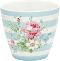 GreenGate Latte Cup - Marie Pale Blue