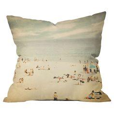 Shannon Clark Vintage Beach Pillow