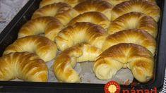 Pamuk kiflice - najmekše kiflice na svetu! Pastry Recipes, Bread Recipes, Cooking Recipes, Ice Cream Candy, Good Food, Yummy Food, Salty Snacks, Bread And Pastries, Home Baking