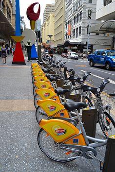 Bikes Brisbane Queensland Australia #City_Edge_Apartment_Hotels #Cityedge http://www.cityedge.com.au