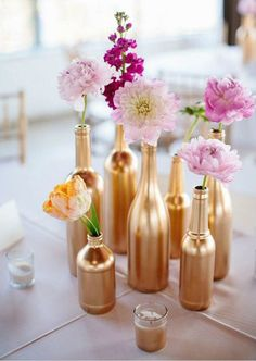 DIY Wedding Centerpieces, information stamp 8710082538 - Delightfully chic tips to create a wonderful and pretty amazing centerpiece. diy wedding centerpieces romantic solutions shared on this moment 20181211 , Diy Wedding, Wedding Reception, Wedding Flowers, Dream Wedding, Wedding Day, Perfect Wedding, Copper Wedding, Trendy Wedding, Wedding Venues