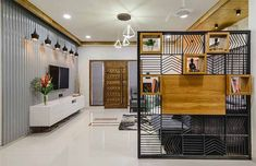 House of Cards: This Muted Home Makes a BIG Impact with Life-Size Art