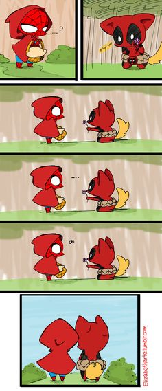 Read 💜Mini Comic Spiderpool 💜 from the story Imágenes Yaoi DC y Marvel by almene_asesina (loka del yaoi) with reads. Spideypool, Superfamily, Deadpool X Spiderman, Spiderman Art, Cute Comics, Funny Comics, Marvel Dc Comics, Marvel Avengers, Marvel Universe