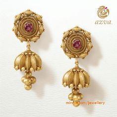 Simple gold jumkha