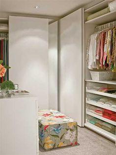Inspire-se nos sete projetos dos armários e closets que selecionamos aqui, cada um com seu estilo e sua história e repletos de boas ideias.