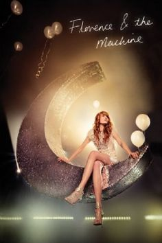 Music posters - Florence & The Machine posters: Florence & The Machine poster featuring Florence Welch sitting on a crescent Moon. This Florence & The Machine poster image is taken from their You Got The Love video. Official Florence & The Machine poste Film Music Books, Music Tv, Her Music, Music Lyrics, Music Is Life, Good Music, Florence The Machines, Film Games, Indie