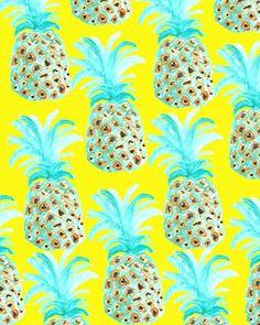 Watermelon print art & prints fruit pattern, prints и pineap Pineapple Art, Pineapple Design, Pineapple Pattern, Fruit Pattern, Pattern Art, Pineapple Express, Pattern Design, Pineapple Kitchen, Pineapple Wallpaper