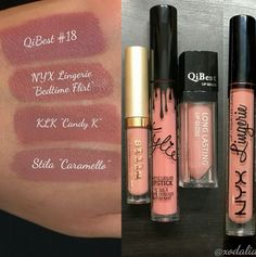 Liquid Lipstick Dupes