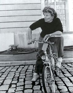 Katharine Hepburn, just being awesome.