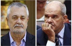 La Audiencia confirma el procesamiento de Chaves y Griñán en el 'caso ERE'