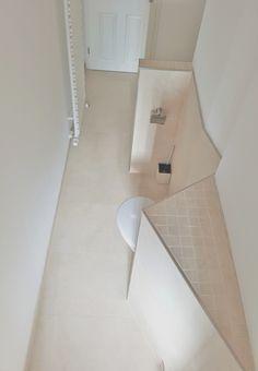 Gestaltung der dusche mit mosaik und fliesen sowie einbau for Fliesen heidelberg