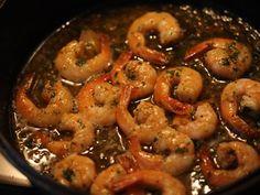 Creveti cu usturoi China Food, Shrimp, Spaghetti, Food And Drink, Sweets, Meat, Calamari, Fine Dining, Pork