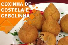 Coxinha de Costela do Chef Almeida - http://chefsdecozinha.com.br/super/receitas/boteco/coxinhas/coxinha-de-costela-do-chef-almeida/ - #ChefAlmeida, #Costela, #Coxinha, #CoxinhaDeCostela, #Superchefs