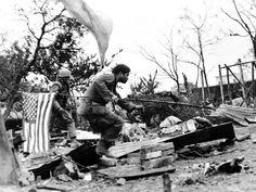 Vietnam War U.S. Flag Photographic Print