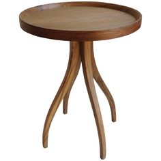 Noir Thalia Side Table, Teak GTAB363T