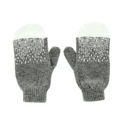 Donna Wilson - Mountain Peak Mittens/Grey